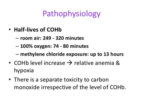 room air hypoxia carbon monoxide poisoning
