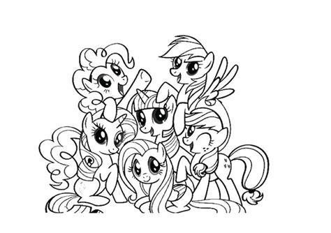coloring pages free my pony my pony coloring pages with all ponies coloring home