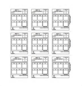 10 line sheet templates free sample example format