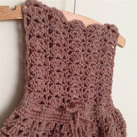 haakpatroon baby jurk gehaakt baby jurkje haakpatroon crochet baby dress