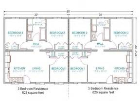 3 Bedroom Duplex Floor Plans Simple 3 Bedroom House Plans Duplex House Plan Layout
