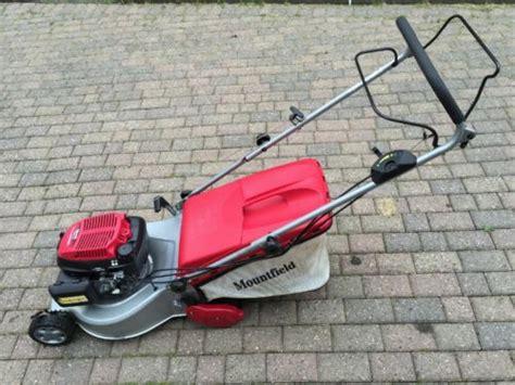 mountfield  pd  driven propelled honda engine lawn mower lawnmowers shop