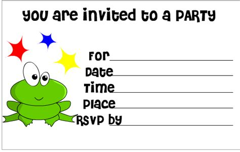 free printable birthday invitations without downloads free birthday party hat printable template