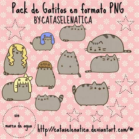 imagenes kawaii gatitos pack de gatitos kawaii by cataselenatica on deviantart