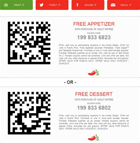 chilis printable coupon 2017 2018 best cars reviews chilis coupons 2015 free dessert 2017 2018 best cars