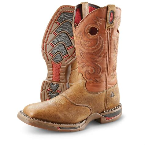 mens square toe cowboy boots s rocky 174 range x square toe boots desert