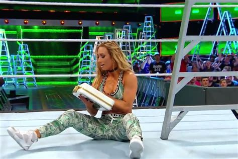 Who Win Money In The Bank - 2017 wwe money in the bank results carmella won 1st ever women s money in the bank