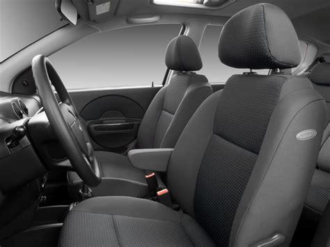 how to fix cars 2006 chevrolet aveo seat position control 2007 chevrolet aveo front seats interior photo automotive com