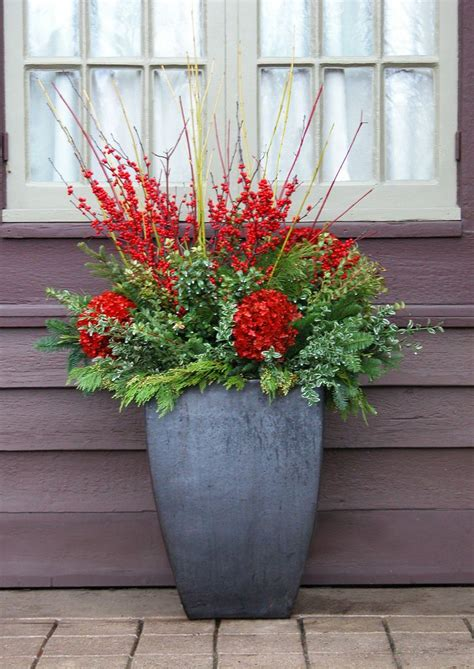 Winter Container Garden - 863 best winter containers images on