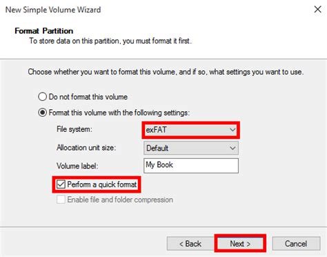 format exfat file allocation size how to format a wd hard drive to exfat or fat32 file system