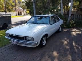 torana holden uc 1978 4 door white sedan 6 cylinder auto