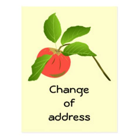 change of address cards templates change address gifts t shirts posters other gift