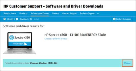 downloading or updating software and drivers for hp