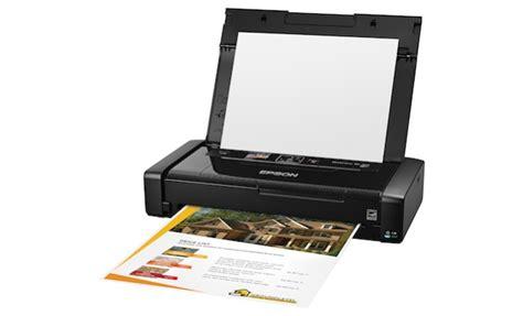 Printer Epson Workforce Wf 100 epson workforce wf 100 wireless mobile printer ecoustics