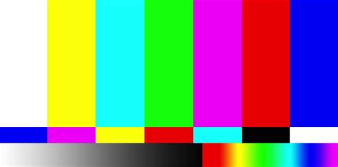 smpte color bars color bars