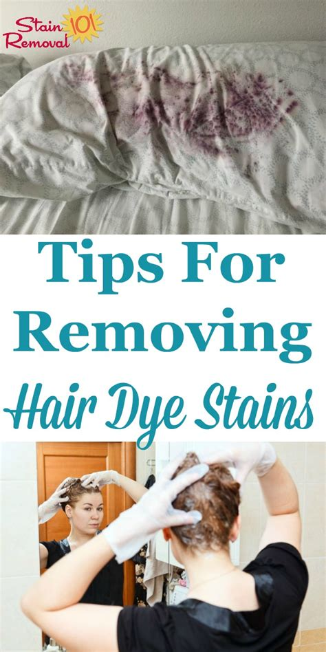 removing hair color from skin removing hair dye stains from surfaces and your skin