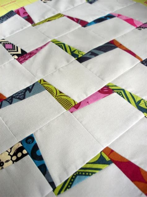 tutorial merajut zigzag awesomely awesome zig zag quilt tutorial made here in a
