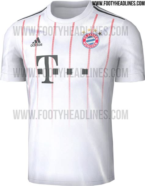 Jersey Bayern Munchen 3rd Kits Adidas Original bayern munich 17 18 third kit leaked footy headlines
