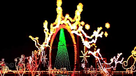 meadow lights christmas display benson nc youtube