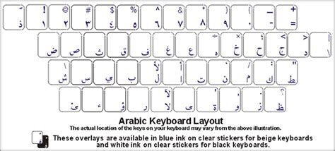 Jual Sticker Keyboard Laptop sticker keyboard laptop arab custom sticker