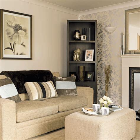 wohnzimmer creme glamorous metallic living room living rooms decorating