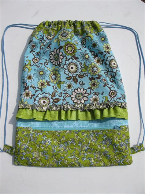 free pattern drawstring bag drawstring backpack sewing pattern pdf small by kathiesewhappy