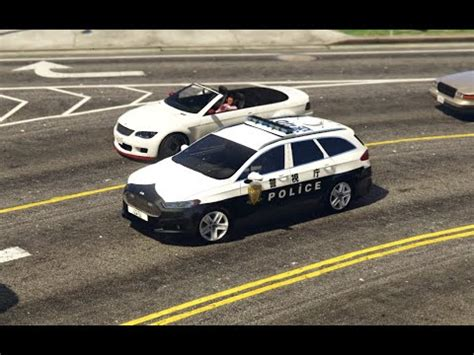 gta v mods | showcases | ford mondeo japanese police car