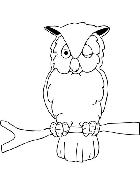 K Animal Coloring Pages by Owl Coloring Page Bird 10 Image Colorings Net