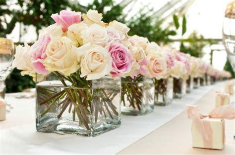 Hochzeitsdeko Selber Basteln by Tischdeko Mit Blumen 35 Ideen