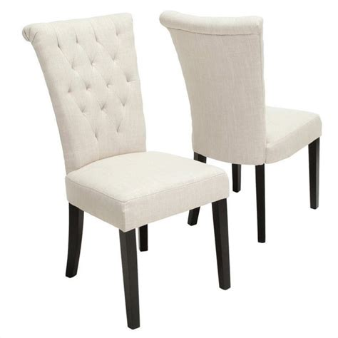 Vatican Chair by Trent Home Vatican Dining Chair In Light Beige Set Of 2