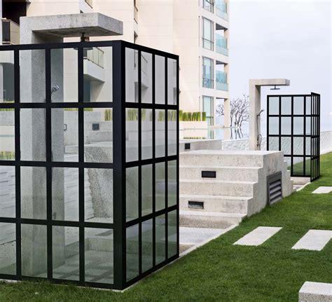 Bath Shower Glass gridscape 174 series coastal shower doors