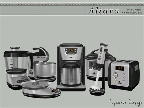 hair mixer download the sims resource altara kitchen appliances by
