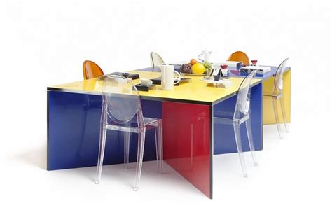 modular dining table modular and colorful dining table