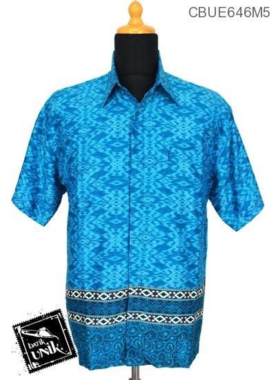 Btk Muslim 646 Gamis Batik Katun Motif Songket kemeja batik mahfud motif songket kembang kemeja lengan pendek murah batikunik