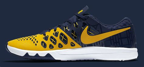 michigan shoes michigan nike speed 4 844102 417 sole collector