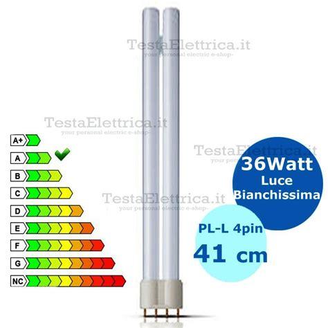 Lu Neon Philips 36w lada pl l 36w 4p al neon attacco 2g11 luce fredda