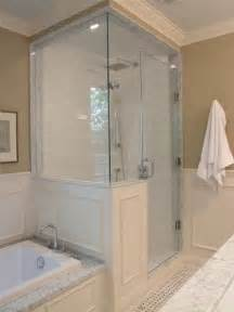 Stand Up Shower Tub Combo Shower Tub Combo Or Separate Soaking Tub