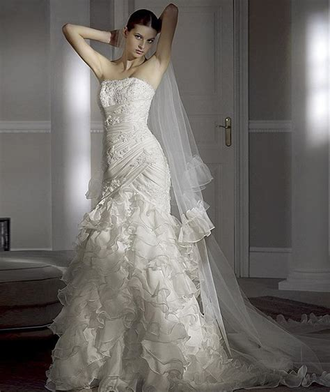 Wedding Dresses 2009 pronovias 2009 preview collection fashionbride s weblog