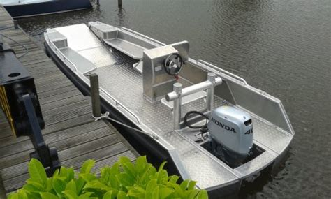 aluminium visboot bouwpakket bootdesign eu nieuws en bouwfoto s