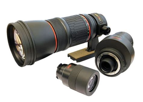 len schienensystem kowa telephoto master lens tp556 ml
