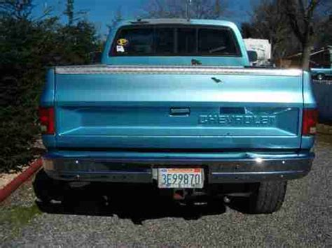 rust free pickup beds sell used 1986 chevy short bed 4x4 rust free ca truck in auburn california united states
