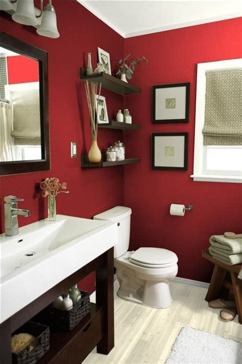 small red bathroom ideas top 5 colorful bathroom designs