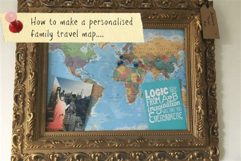 make your travel map create your own personalised family travel map the
