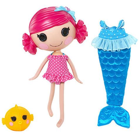 Lalalopsy Family Set lalaloopsy mermaid coral sea shells doll walmart