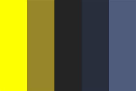 batman color batman the edited color palette
