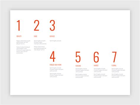 design a creative table of contents templates and exles