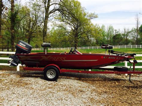 aluminum boats for sale ky best for sale 1997 xpress 18ft aluminum bass boat for
