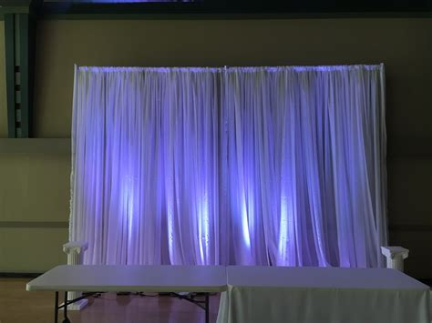 24 Sheer Pipe And Drape Vancouver Drape Rental