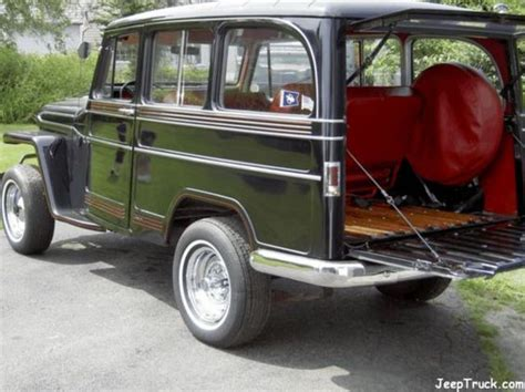 Willys Jeep Wagon For Sale Willys Wagon Jeeptruck Jeeps For Sale 1961