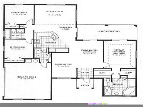 simple open floor plan homes house floor plan design simple floor plans open house